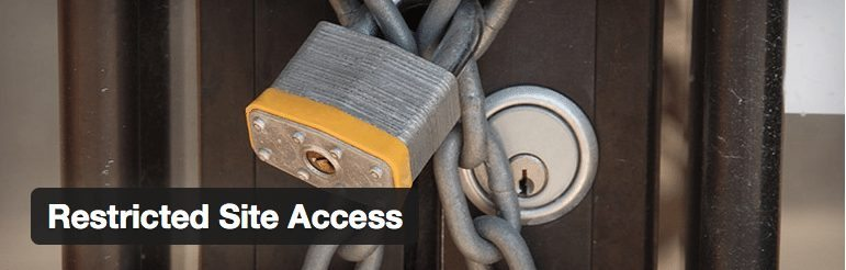Restricted Site Access