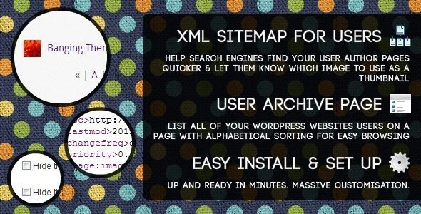 Users Sitemap & Archive - WordPress Plugin