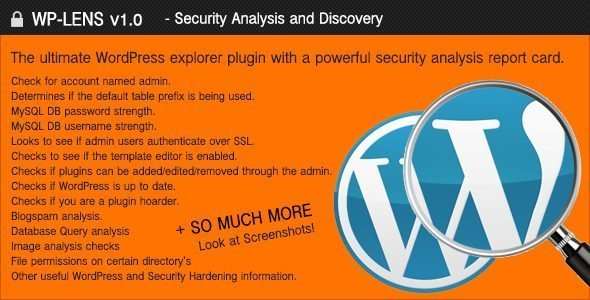 WP-Lens-Security and Analysis