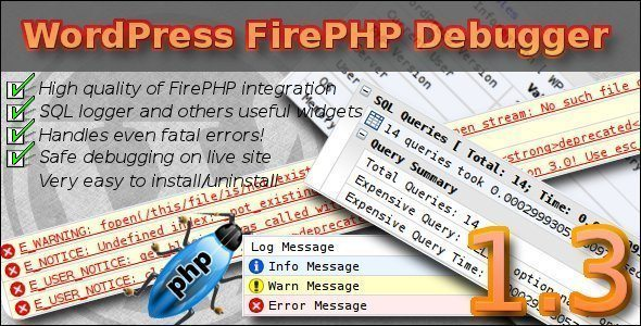 WordPress FirePHP Debugger