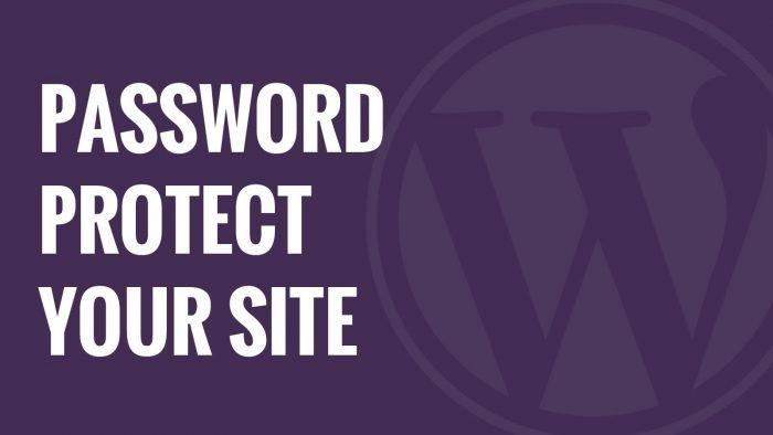 wordpress-password-protected