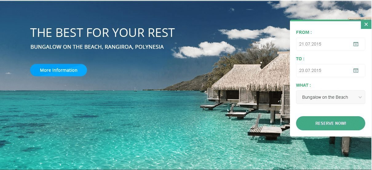 Hotel WordPress Theme - Anchor