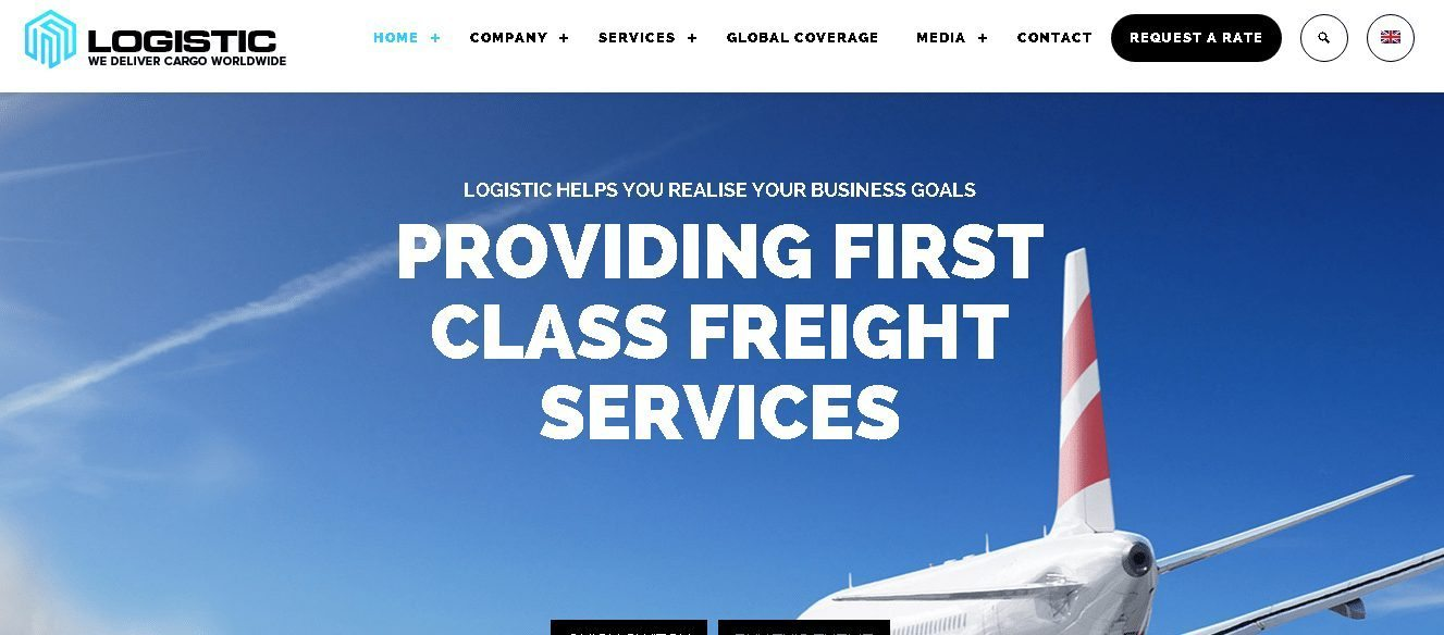 Logistic - WordPress Transport Logistics Themes