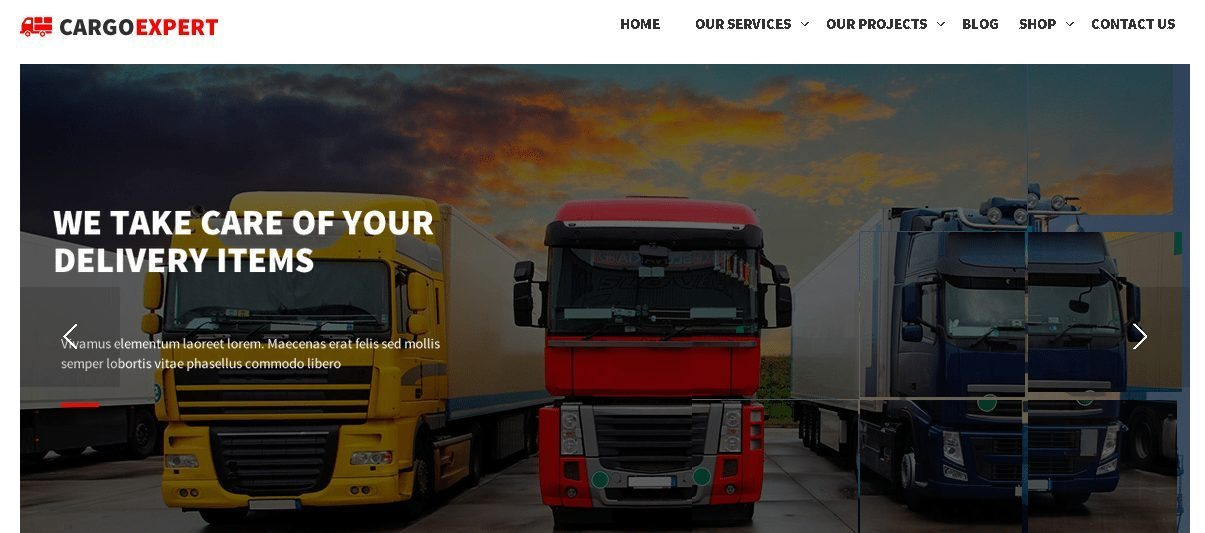 Pro Agency - WordPress Transport Logistics Themes