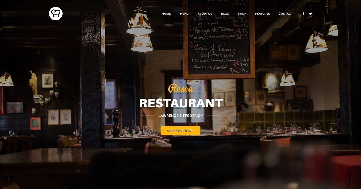 Best WordPress Restaurant Responsive Themes