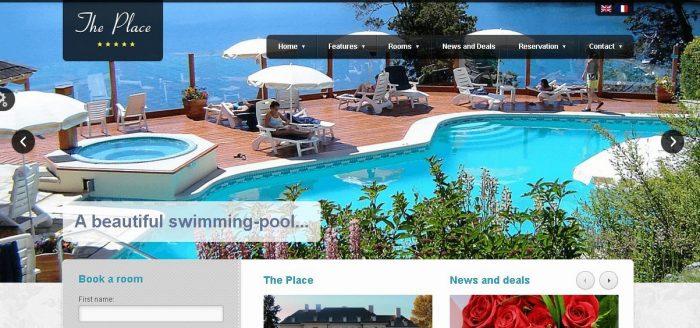 The Place - WordPress Hotel Theme