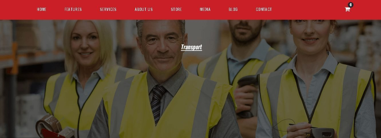 Transport - WordPress Transport Logistics Themes