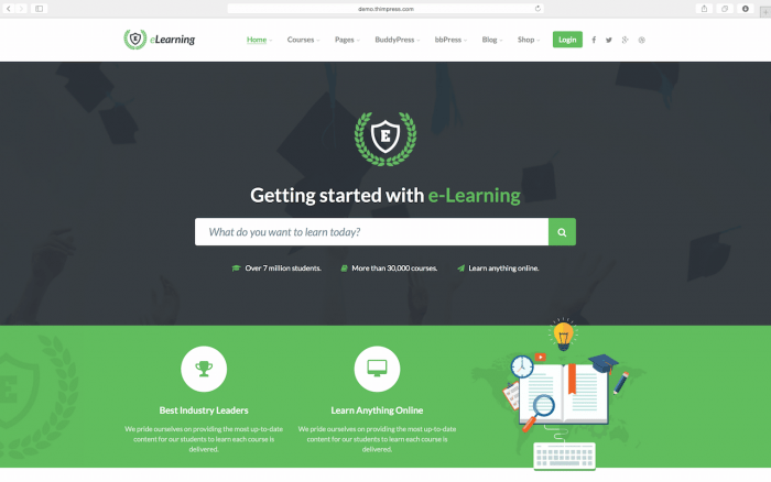 elearning wp nulled