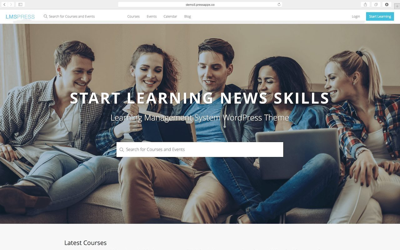 LMS Press | Learning Management System LMS WordPress Themes