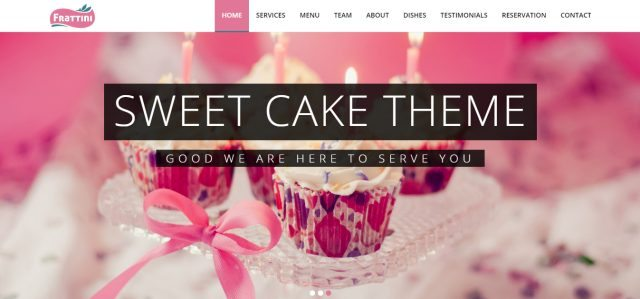 Best Bakery-Cake WordPress Theme Collection 2016 – Frattini