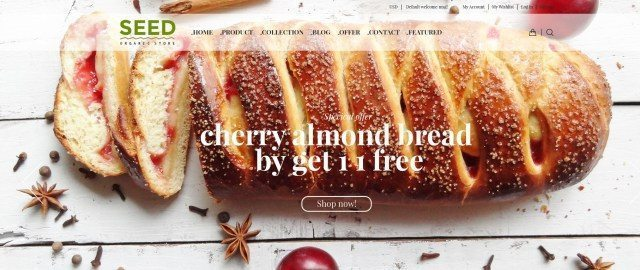Best Bakery-Cake WordPress Theme Collection 2016 – SEED