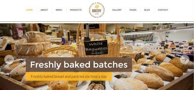 Best Bakery-Cake WordPress Theme Collection 2016 - Bakery theme