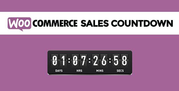 WooCommerce Sales Countdown