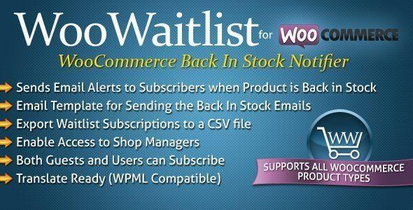 WooWaitlist, Back In Stock Notifier for WooCommerce