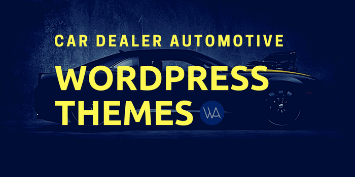 Car Dealer Automotive WordPress Themes