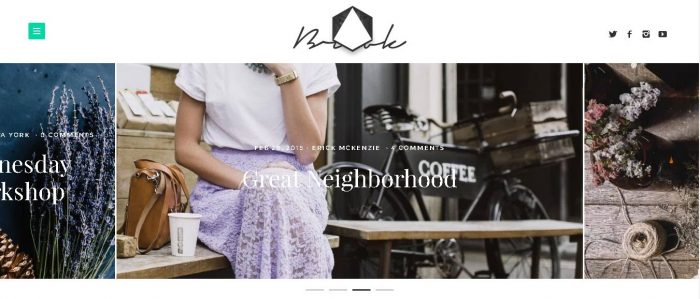 Brook - Light & Responsive WordPress Blog Theme