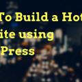 build hotel website