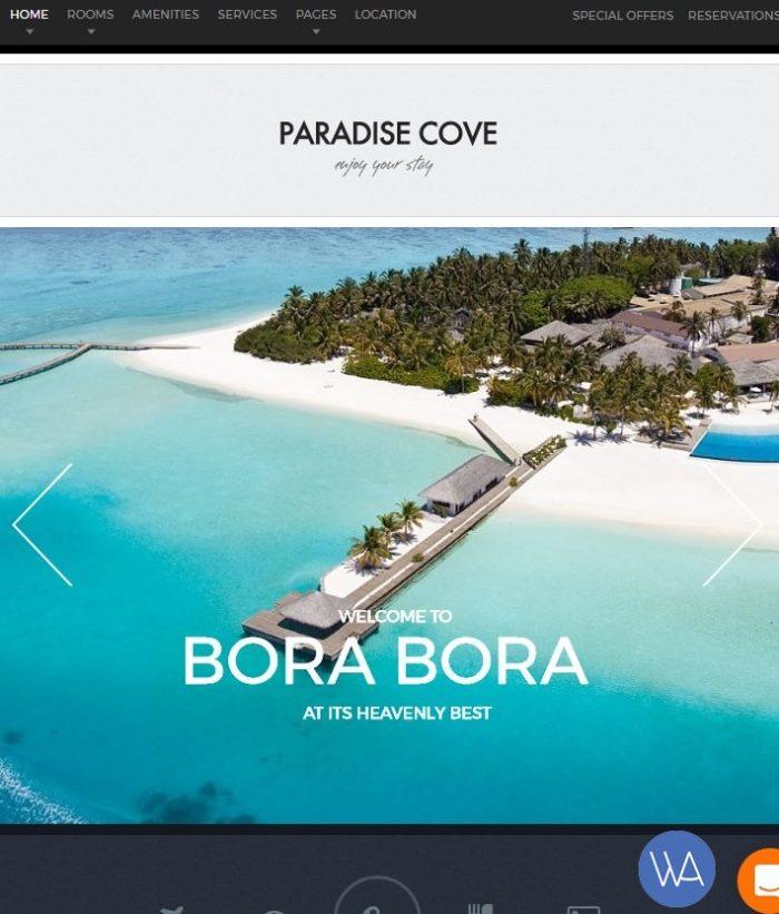 Paradise Cove theme