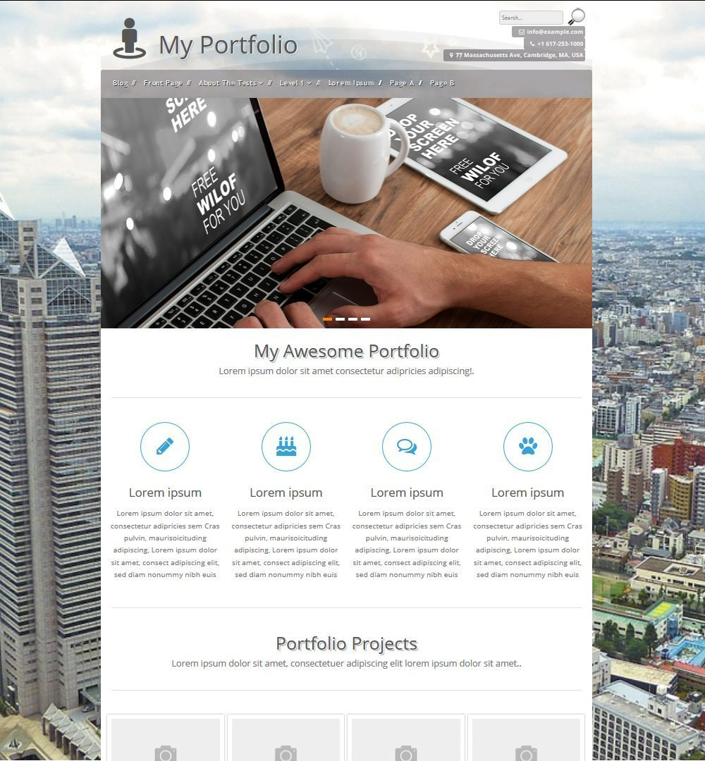 Best Vcard Resume WordPress Themes        freshDesignweb zeeBizzCard is a clean and elegant style Business Card Theme  Although this  theme has been retired recently  means the support and updation for this  theme