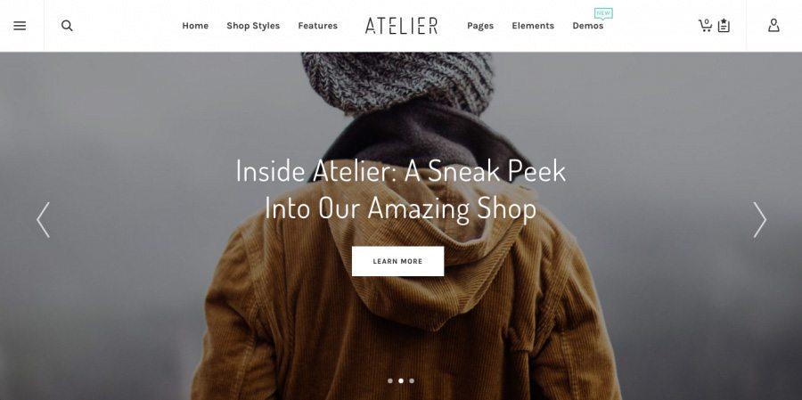 WordPress Theme e-Commerce - Atelier