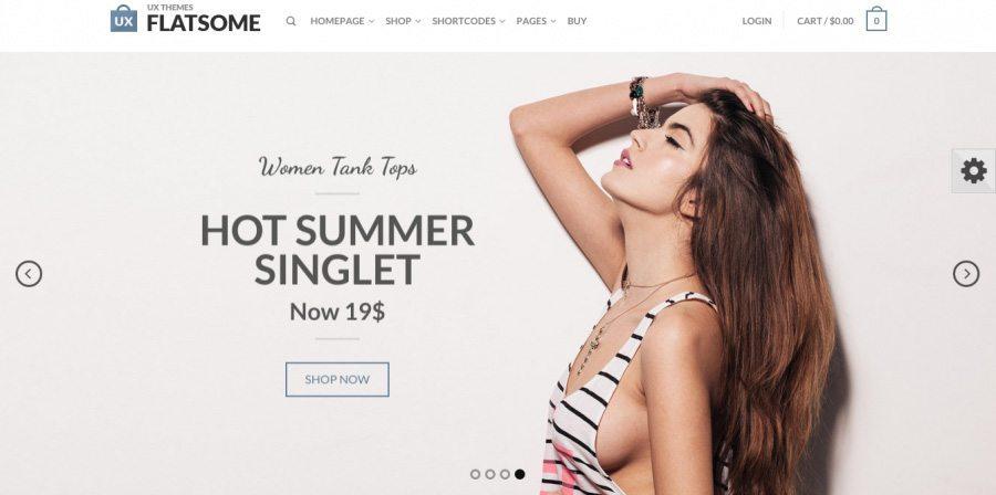 Fantastic e-Commerce Theme - Flatsome