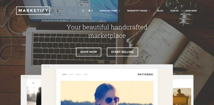 Premium WP e-Commerce theme - Marketify