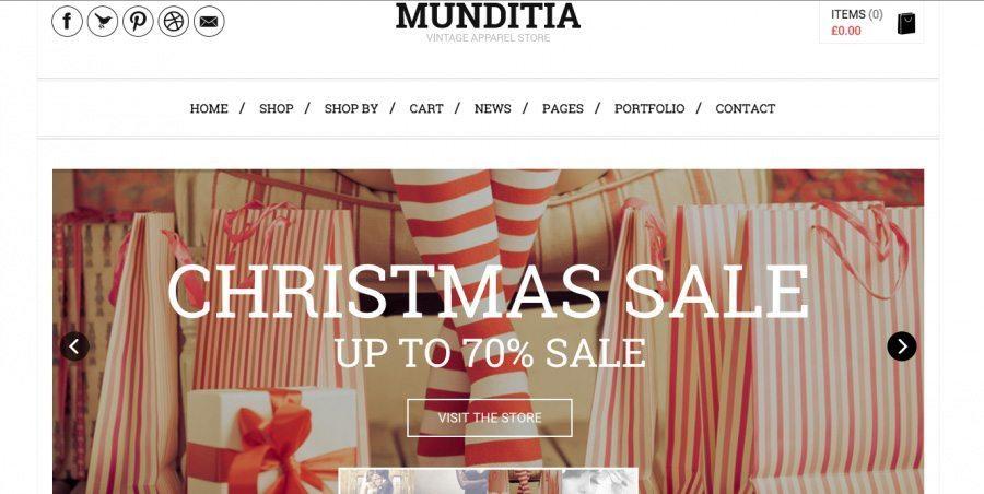 Munditia - Best WP Theme for eCommerce