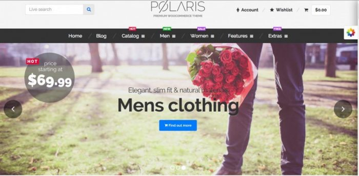 eCommerce WordPress Theme - Polaris