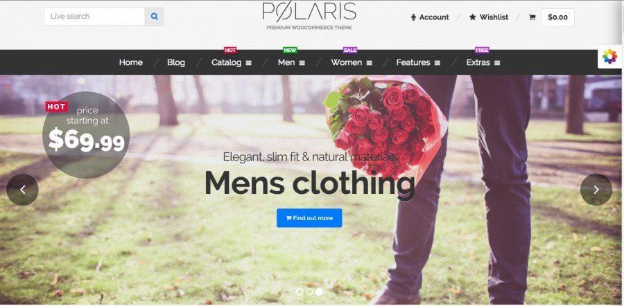 eCommerce WordPress Theme - Polaris