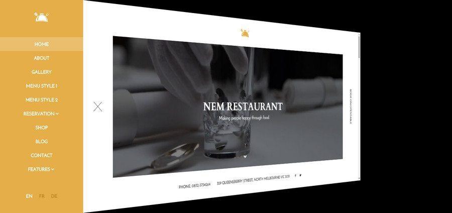 10 Best WordPress Restaurant Themes 2019 Wparena