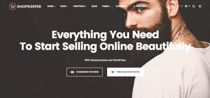Best eCommerce WordPress Theme - Shopkeeper