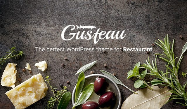 Elegant WordPress Restaurant theme - Gusteau