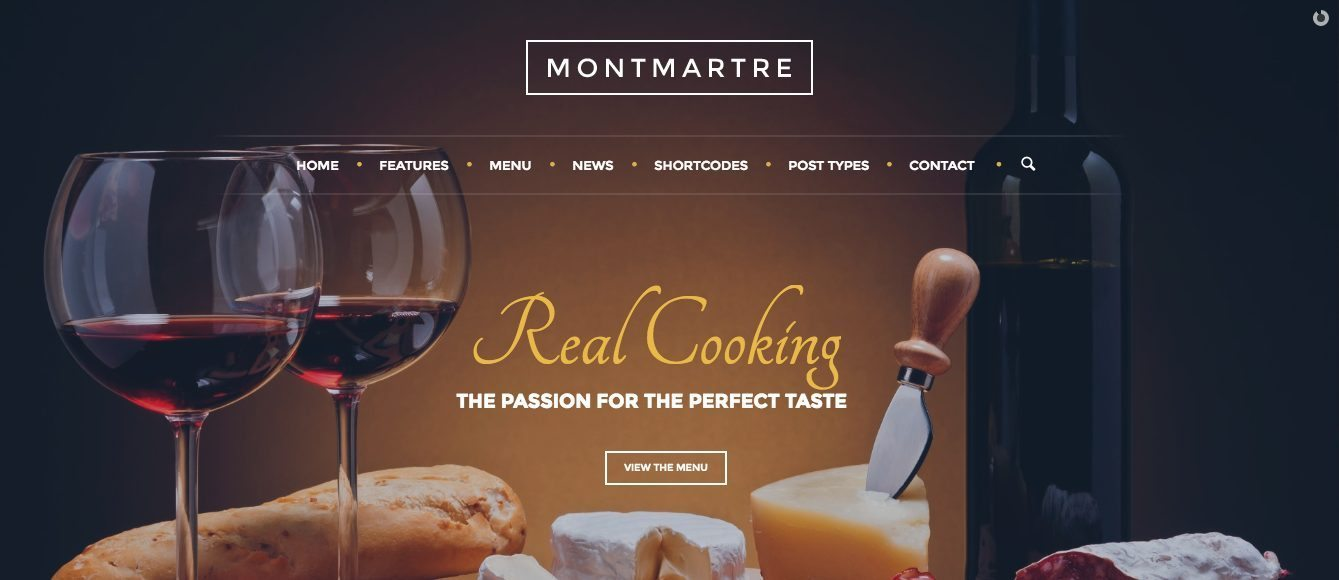 WP Restaurant Theme Premium - Montmatre