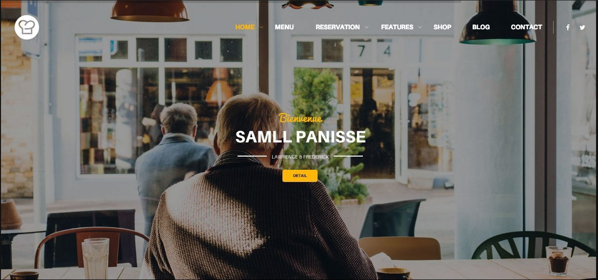 Resca WordPress Restaurant Website