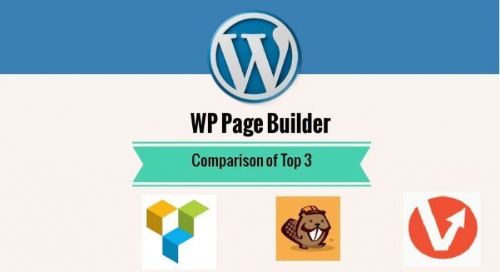 Comparison of Top 3 WordPress Page Builders