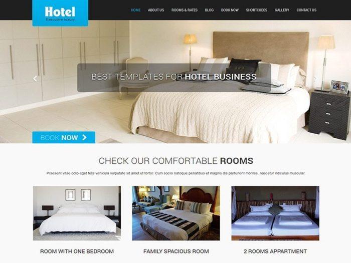 Free WordPress Hotel Theme - SKT Hotel Lite
