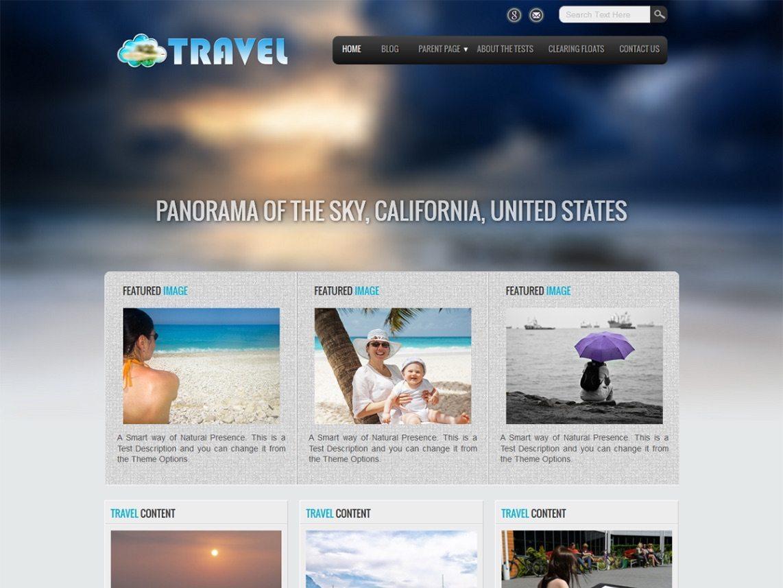 Nice Hotel WordPress Theme - Travel Lite