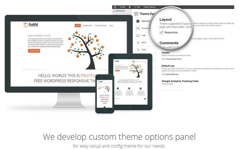 Fruitful - WP eCommerce theme free