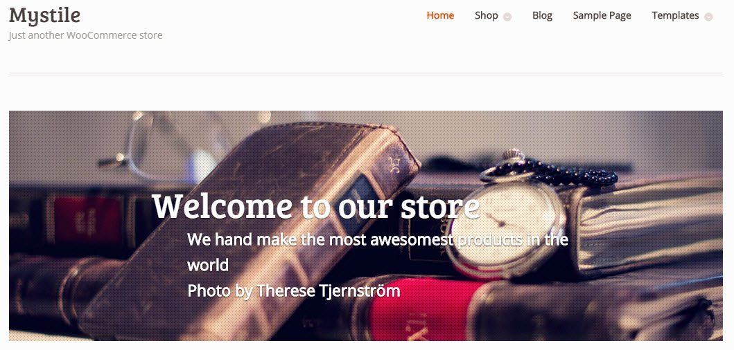 Mystile - Free WordPress eCommerce themes