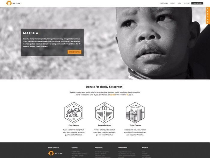 Maisha Lite - Free WordPress Theme