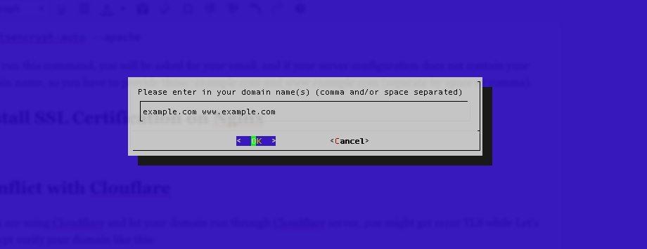 install ssl certificate Apache