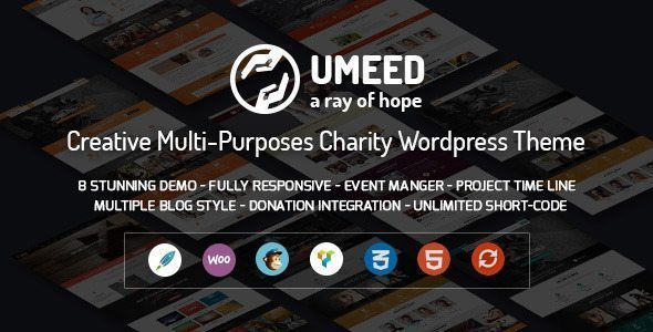 Umeed - A Ray of Hope Multipurpose WordPress Theme
