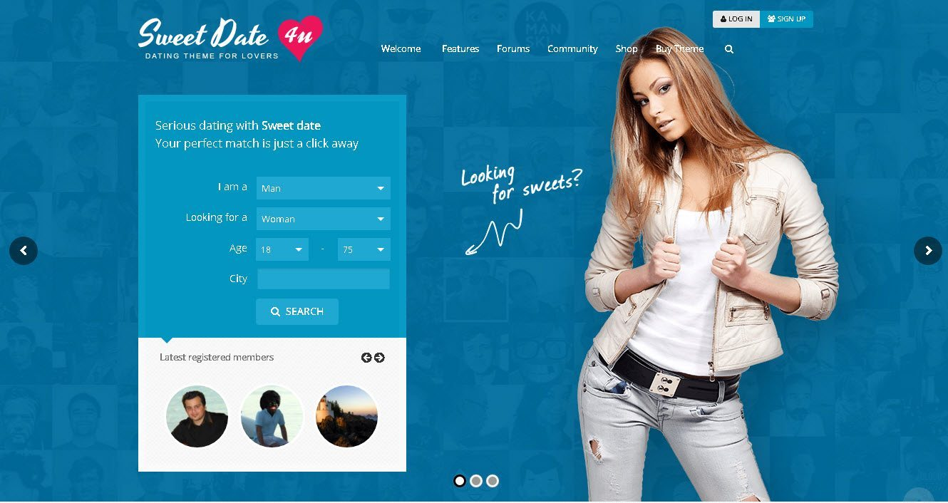 Sweet date more than a wordpress dating theme nulled