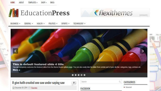Fanstatic Theme for Preschool WordPress - EducationPress