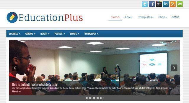 Amazing WP Theme Free for Educational - EducationPlus