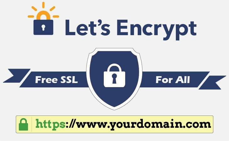 How To Install Free SSL certificate using Let's Encrypt