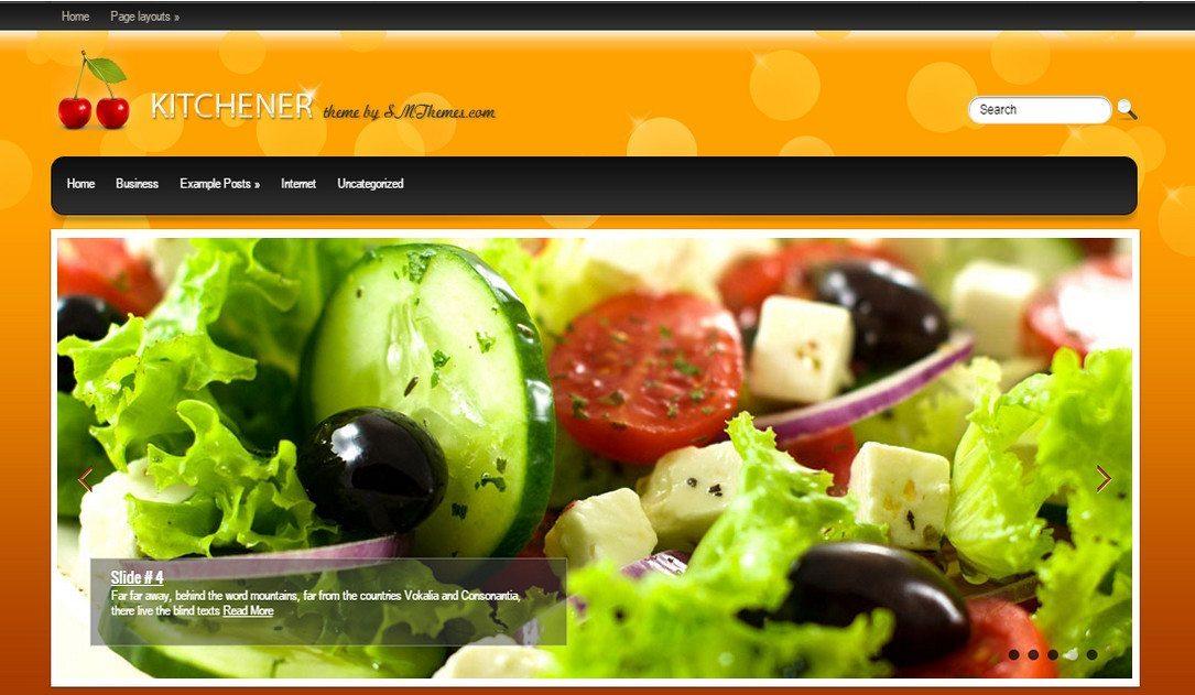 Kitchener - Free WP Restaurant Theme