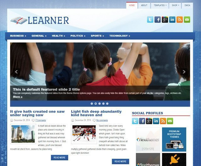 Learner - Educational WordPress Theme