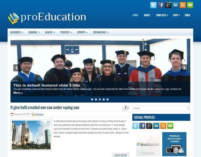 ProEducation - WP Education Blogging Theme