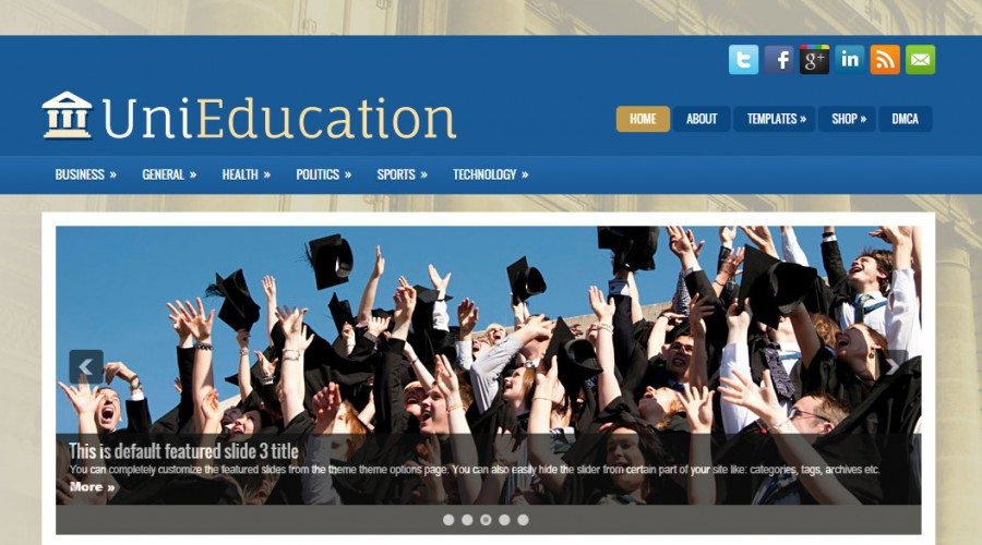 Free Educational Themes for WP